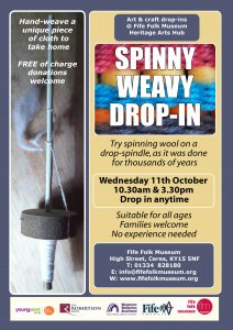 Spinny weasy drop in