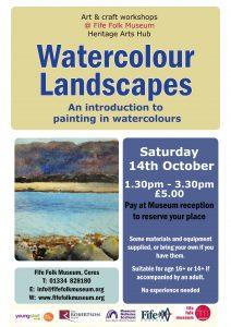 Watercolour landscape class
