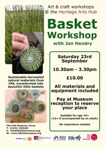 Basket workshop poster