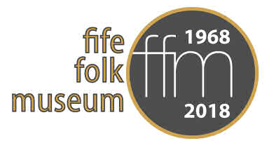 Fife Folk Museum 50th birthday logo