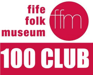 Fife Folk Museum 100 club logo