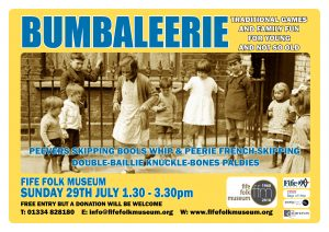 Fife Folk Museum. Umbaleerie poster