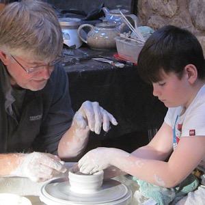 Fife Folk Museum Pottery Workshop