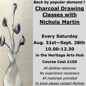 Fife Folk Museum Charcoal Drawing Classes
