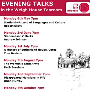 Fife Folk Museum 2019 Talks - updated