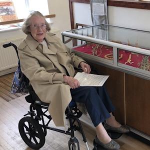Fife Folk Museum's special visitor