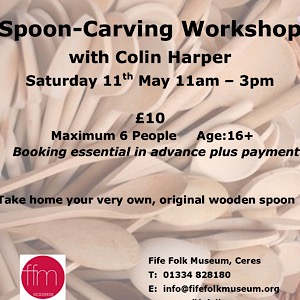 Fife Folk Museum Spoon carving workshop