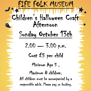 Fife Folk Museum Hallowe'en Crafts