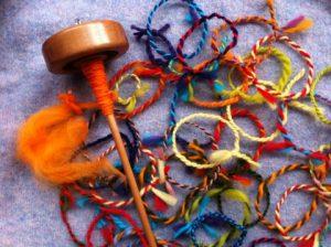 Spun bracelets