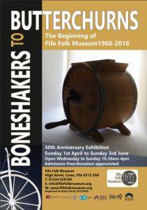 Fife Folk Museum Boneshakers to Butterchurns poster