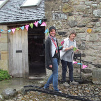 Fife Folk Museum; Working outside the museum