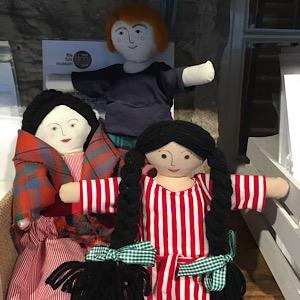 Fife Folk Museum rag dolls