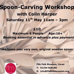 Fife Folk Museum Spoon carving workshop